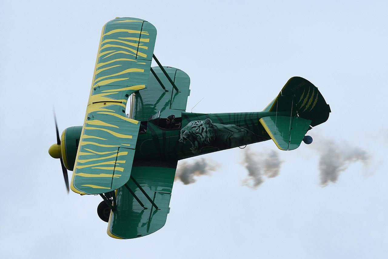 Boeing Stearman de Saint-Dizier